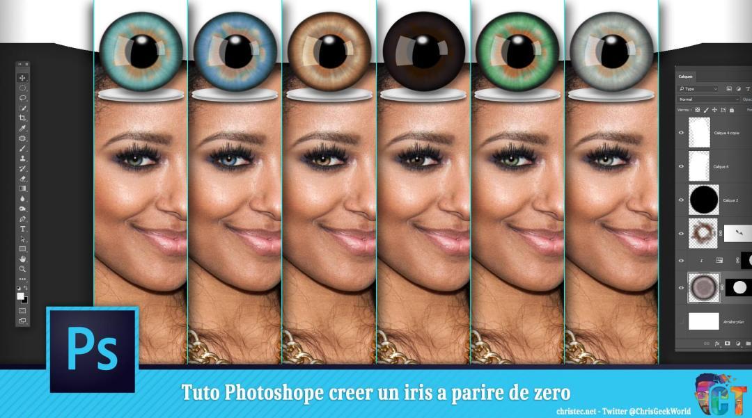 image en-tête Tuto Photoshop iris