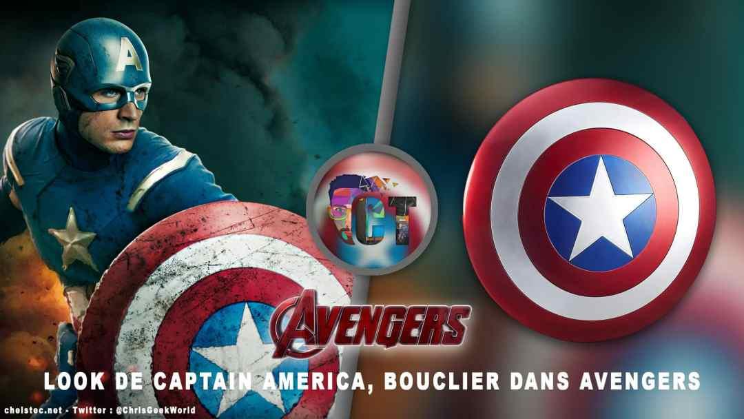Look de Captain America dans Avengers ( Bouclier )