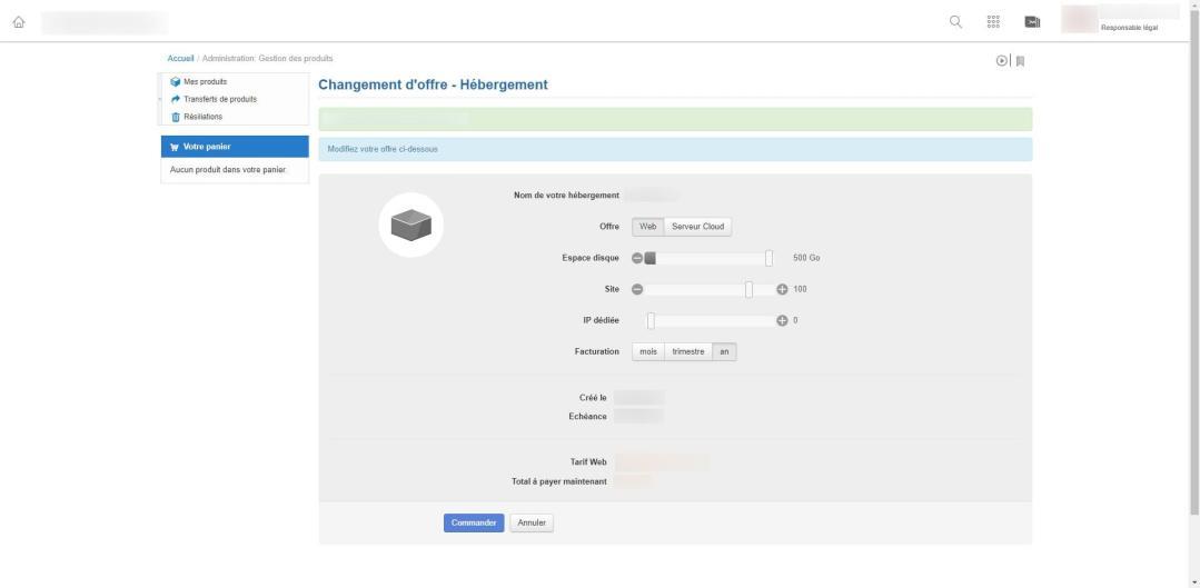 Image tuto pour migrer un hébergement web sur un serveur cloud chez infomaniak 3