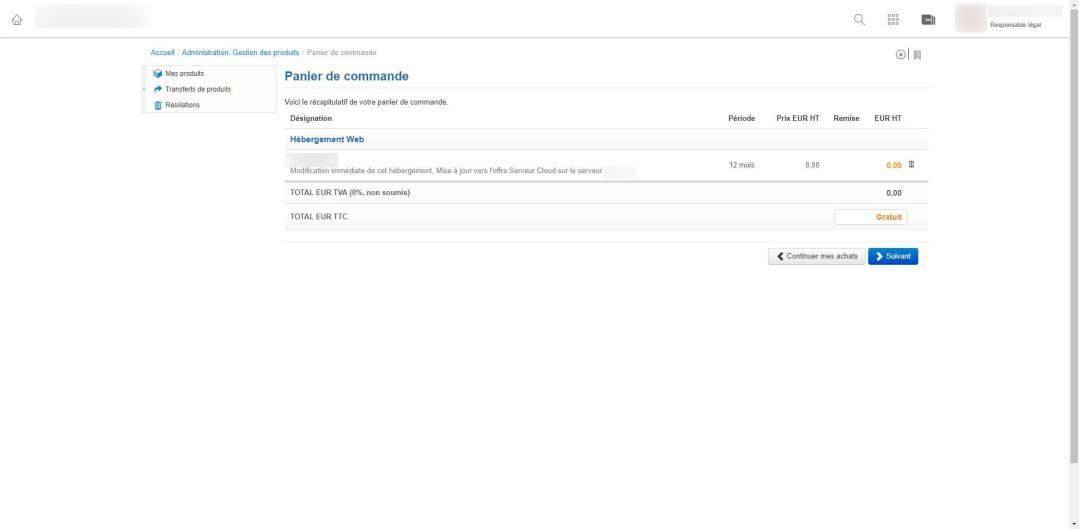 Image tuto pour migrer un hébergement web sur un serveur cloud chez infomaniak 5