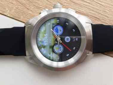 Image test de la zetime, la première montre connectée hybride 6