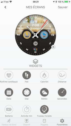 Image test de la zetime, la première montre connectée hybride 39
