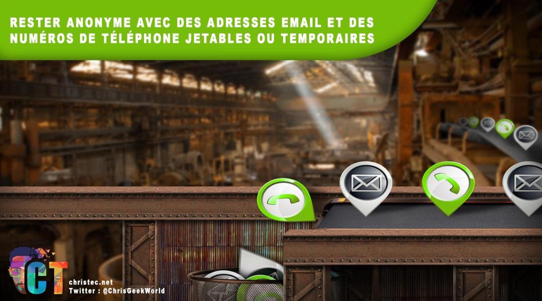 high quality latest design wholesale Rester anonyme avec des n° de tél et des e-mail jetables ou ...