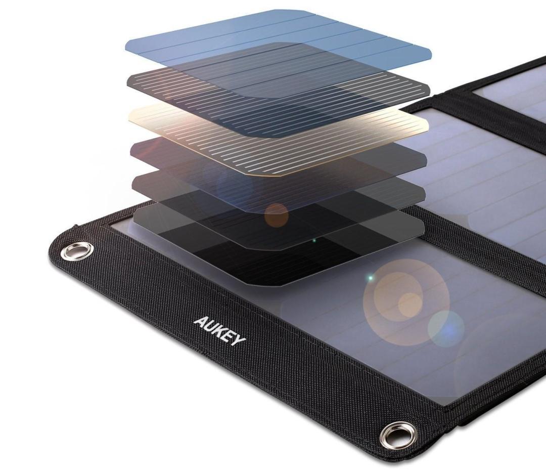 image test du chargeur solaire de 21 w aukey 14