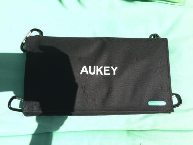 image test du chargeur solaire de 21 w aukey 6