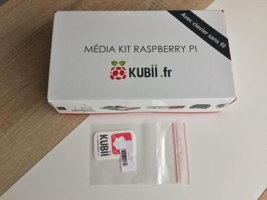 image Test du kit média center Raspberry PI 3 B+ de Kubii 2