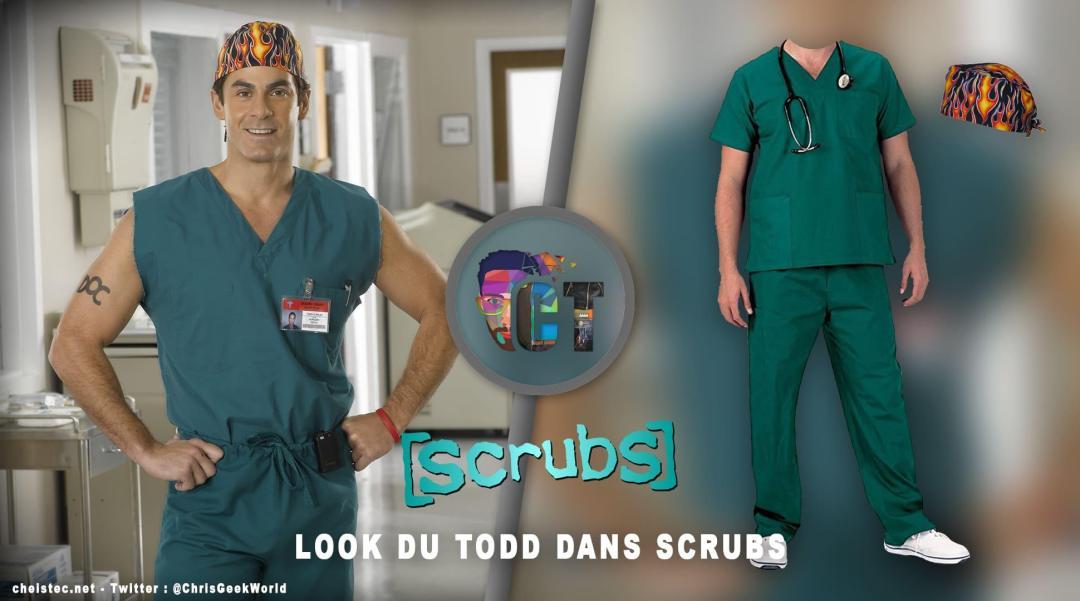 image en-tête Look du Todd dans la serie Scrubs