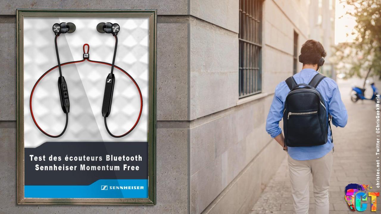 Test des écouteurs Bluetooth Sennheiser Momentum Free