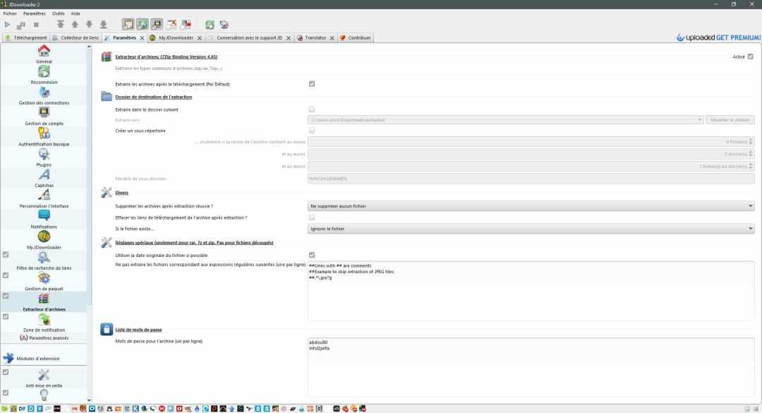 Présentation de Jdownloader 2 le meilleur gestionnaire de téléchargement