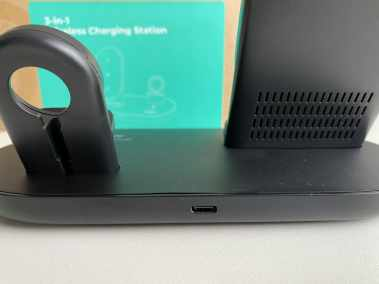 image Test de la station de charge sans fil 3 en 1 Aukey, Iphone, Watch, AirPods 5