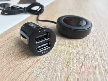 image Test du transmetteur Bluetooth / FM Aukey avec chargeur USB pour voiture 3
