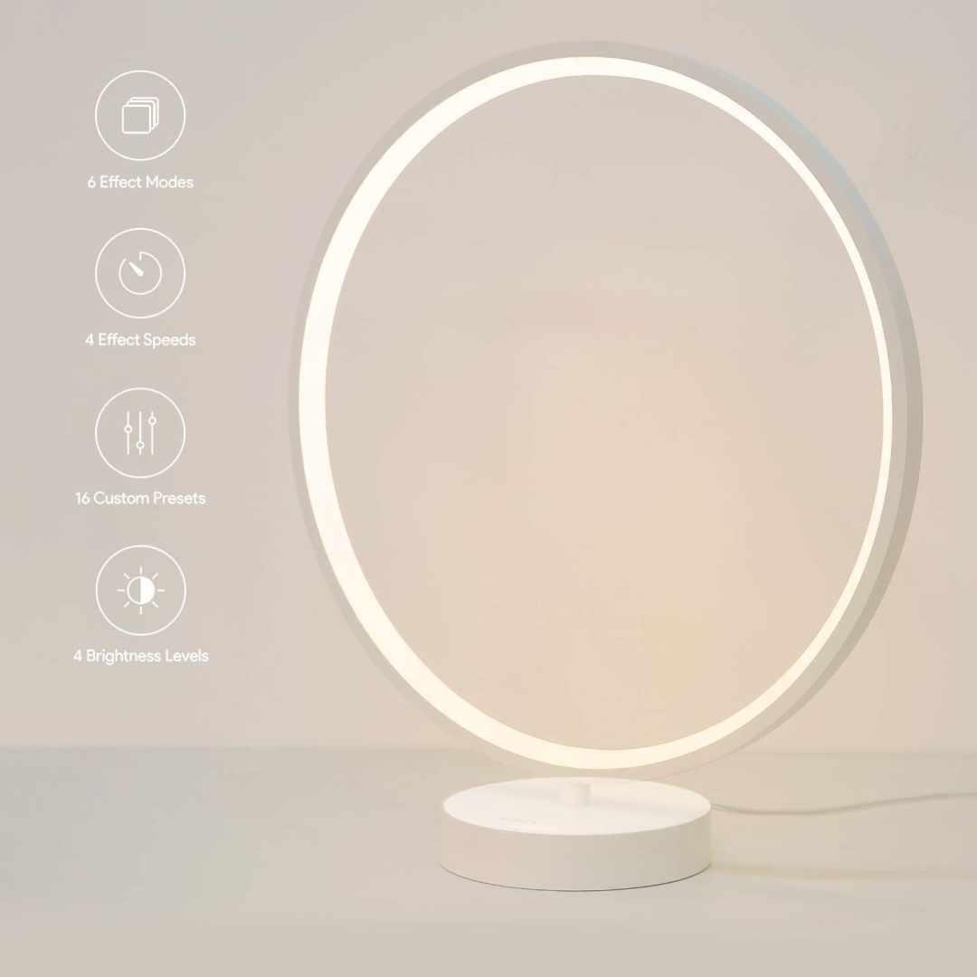 image Test de la lampe à LED multicolore en anneau d'Aukey 10