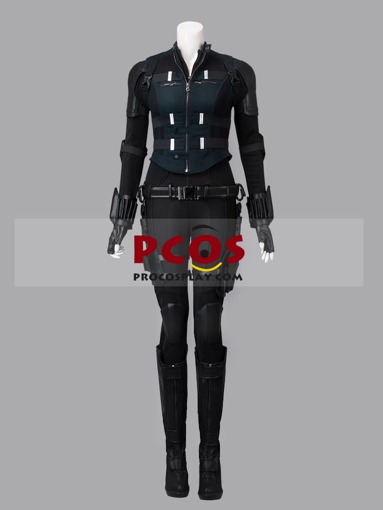 """image Look de """"Black Widow"""" Natasha Romanoff dans Avengers Infinity War (Combinaison et Veste) 8"""