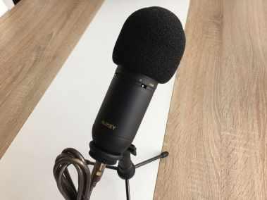 image Test du microphone cardioïde USB Aukey à condensateur 9