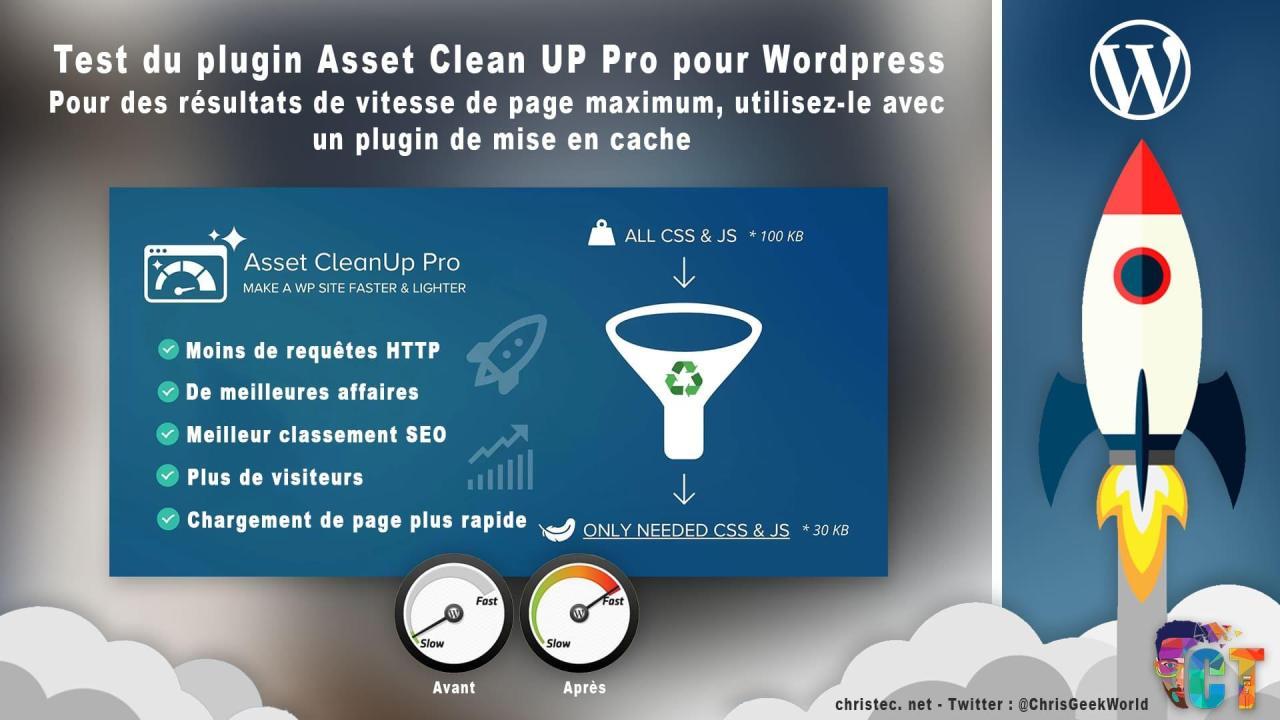 Asset CleanUp Pro le plugin WordPress qui accélère votre site