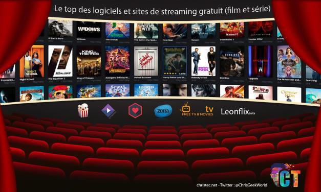 Le top des logiciels et des sites de streaming gratuit (film et série)