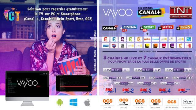 Solution pour regarder gratuitement la TV sur PC et Smartphone (Canal +, Canalsat, Bein Sport, Rmc, OCS)