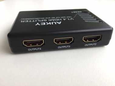 image Test du splitter HDMI 3D et 4K Aukey avec 1 entrée et 4 sorties 5