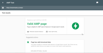 image Test du plugin Wordpress AMP for WP Pro et ses extensions premium 17