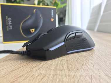 image Test de la souris gamer Aukey, 5000 DPI, RGB 16,8 Millions de Couleur, 6 Boutons programmables. 4