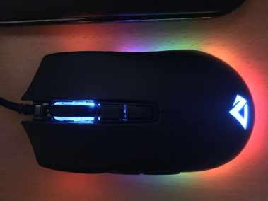 image Test de la souris gamer Aukey, 5000 DPI, RGB 16,8 Millions de Couleur, 6 Boutons programmables. 12