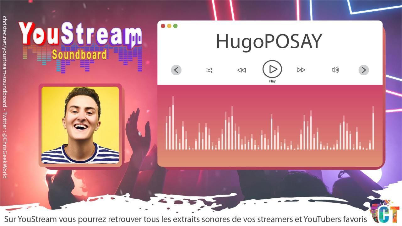 YouStream HugoPOSAY