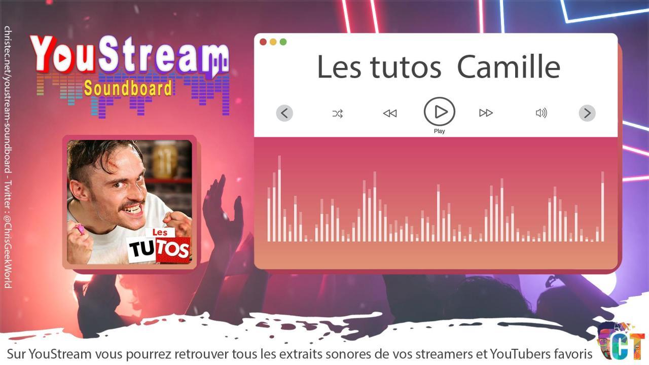 YouStream Les tutos de Camille