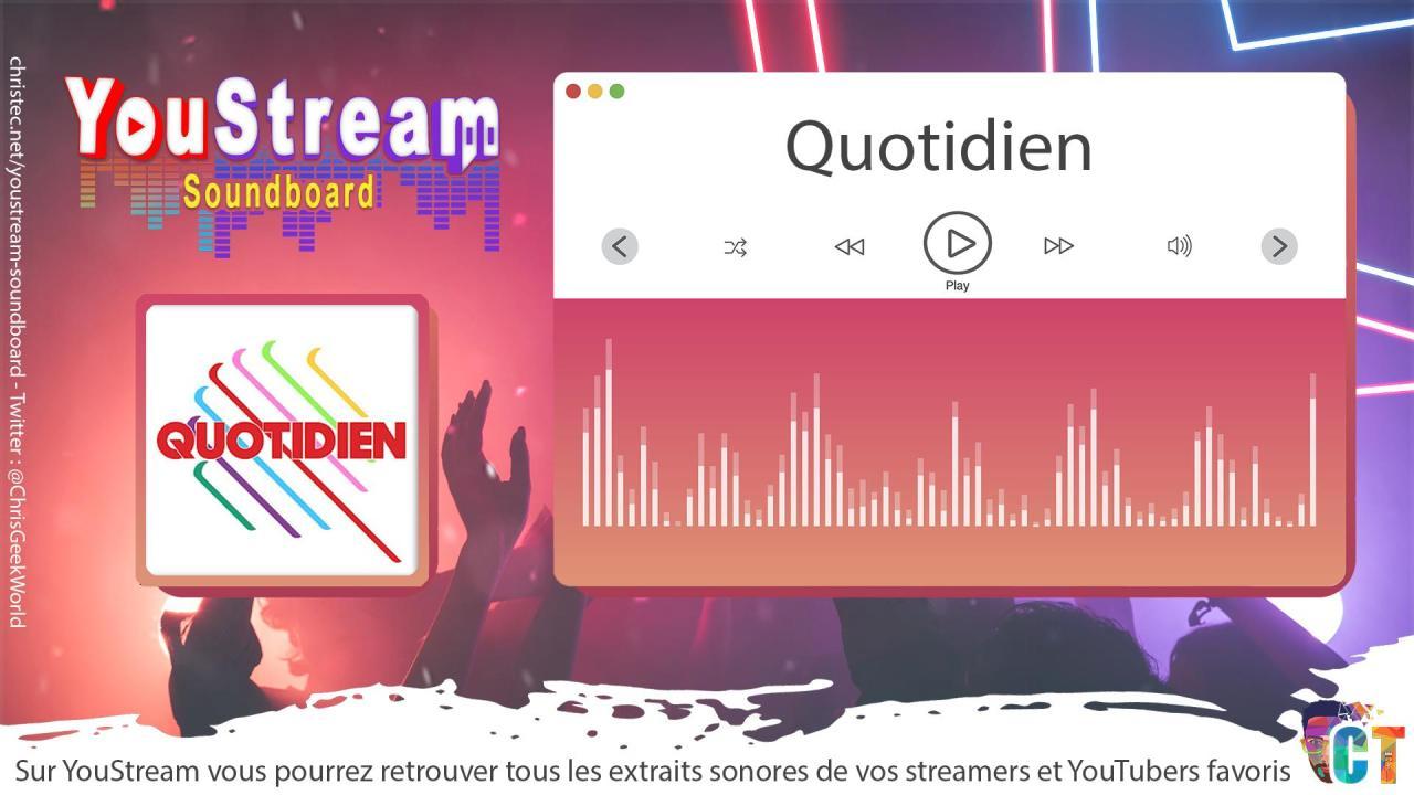 YouStream Quotidien