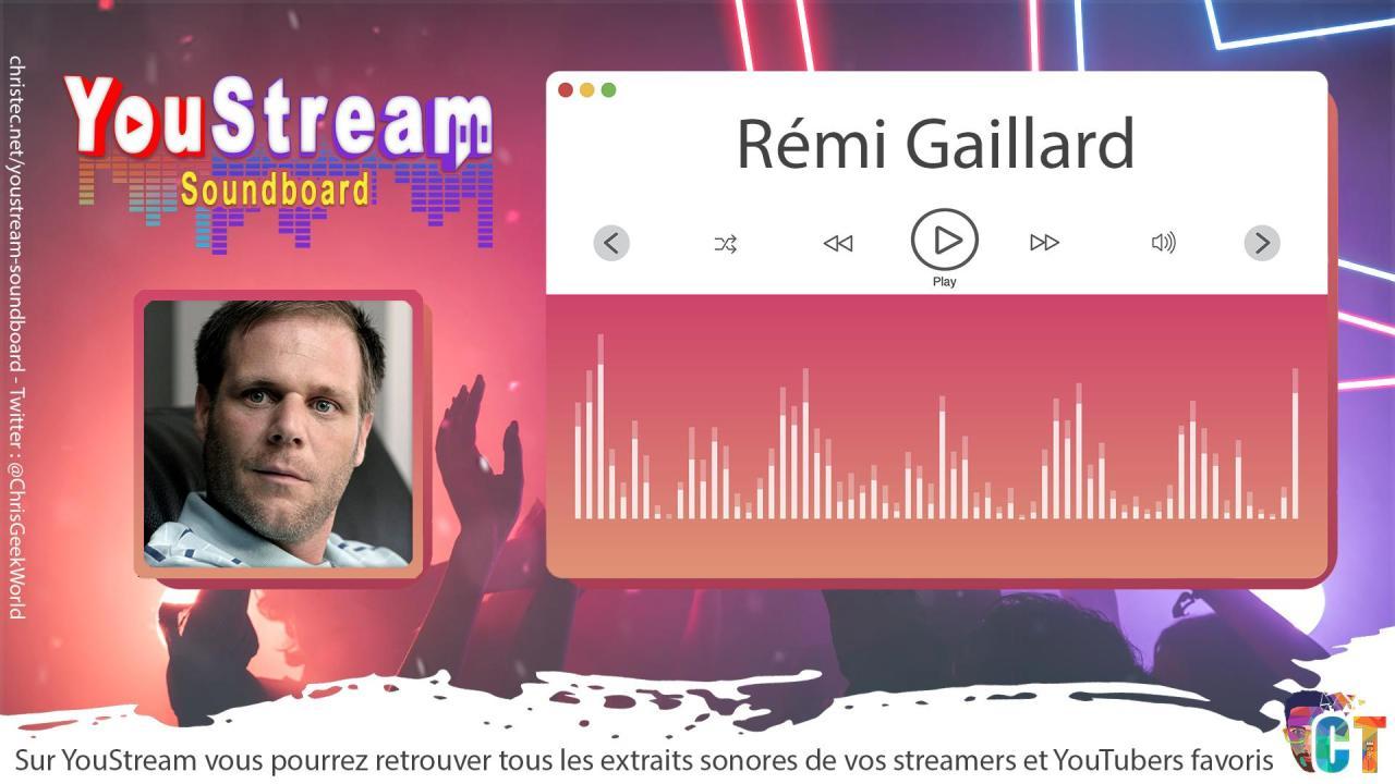 YouStream Rémi Gaillard
