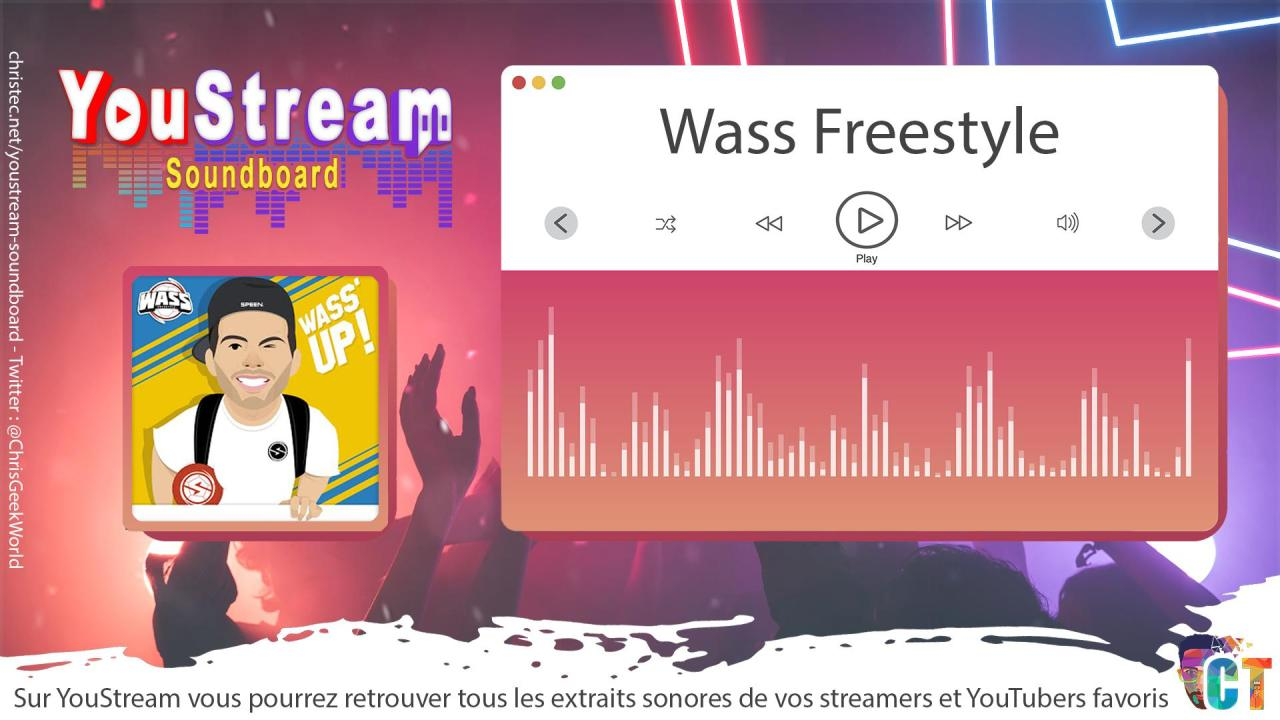 YouStream Wass Freestyle