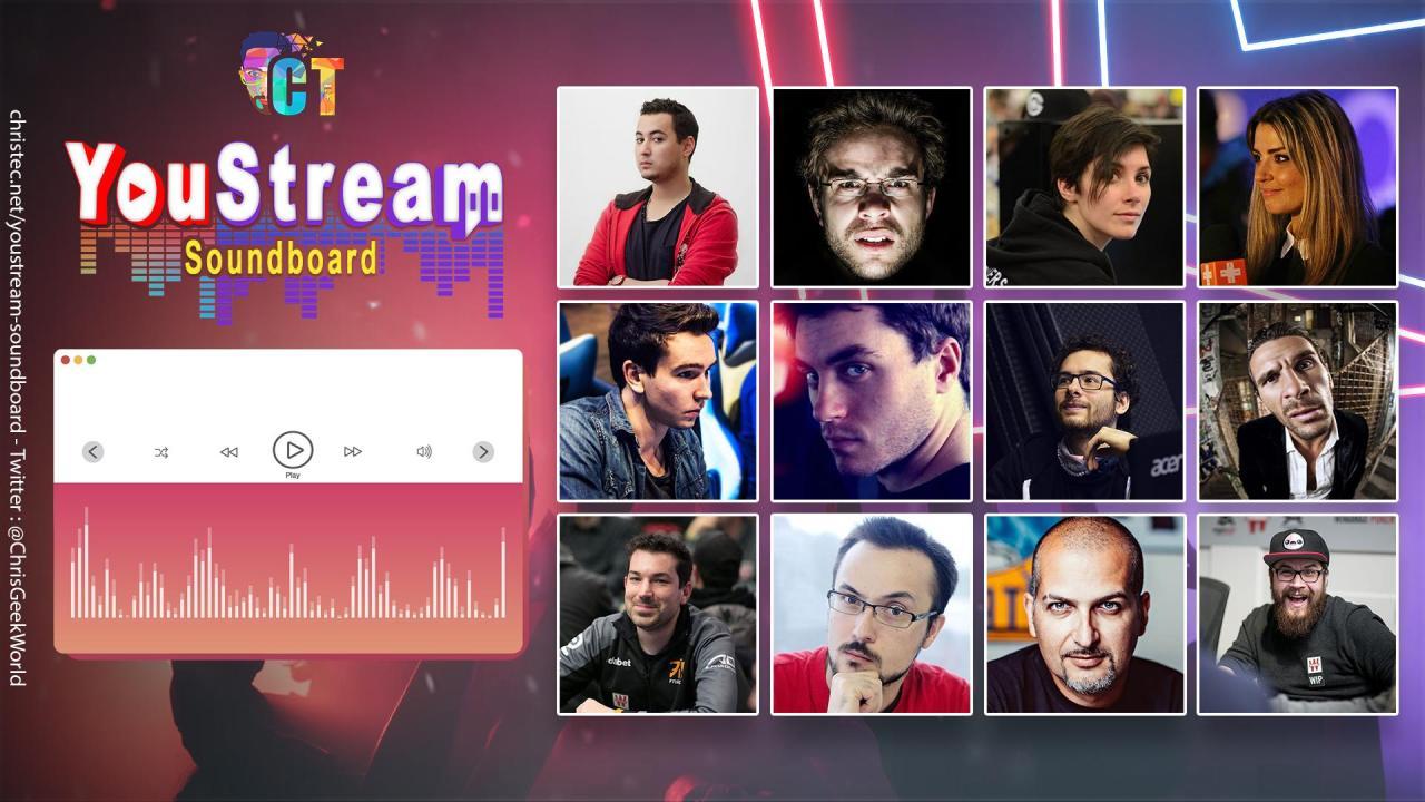 YouStream Soundboard