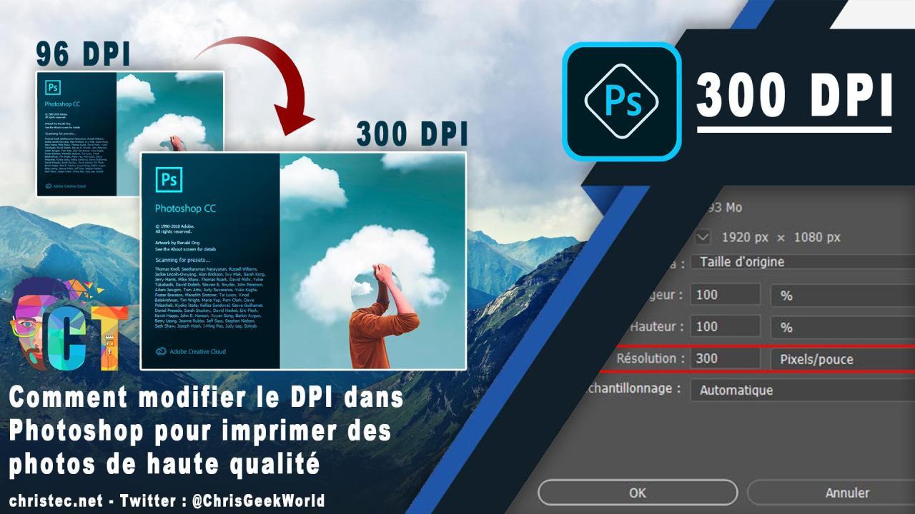 Comment modifier le DPI dans Photoshop pour imprimer des photos de haute qualité