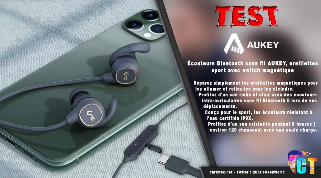image en-tête Test des écouteurs Bluetooth EP-B60 AUKEY pour le sport