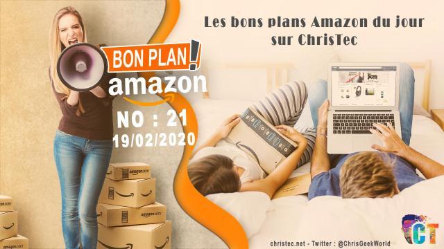 Bons Plans Amazon (21) 19 / 02 / 2020