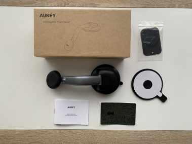image Test du support de smartphone magnétique Aukey pour voiture 3