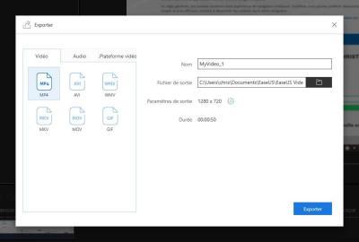 image Test de EaseUS Video Editor le logiciel de montage vidéo pour débutants et professionnels 13