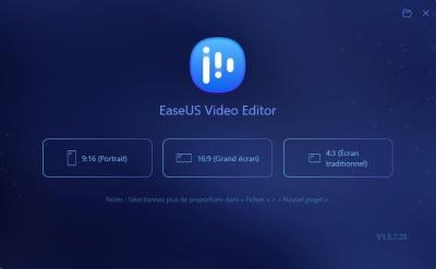 image Test de EaseUS Video Editor le logiciel de montage vidéo pour débutants et professionnels 3