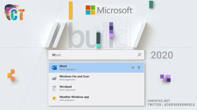Conférence Build Microsoft 2020, toutes les fonctionnalités intéressantes de Windows 10 annoncées