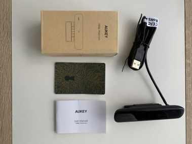 image Test de la webcam FHD 1080p avec mise au point fixe de Aukey 2