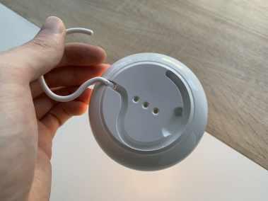 image Test de la veilleuse avec chargeur sans fil pour smartphone de chez Aukey 10