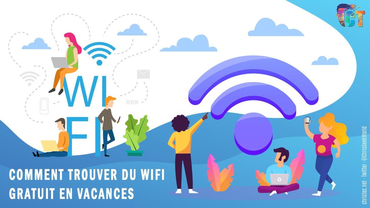 Trouver du wifi gratuitement partout dans le monde