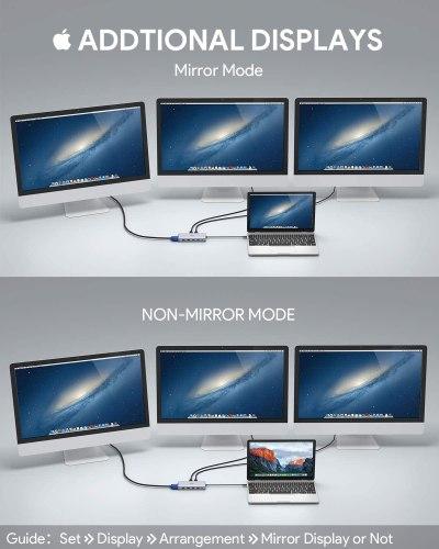 image Test du hub et adaptateur USB C 12 en 1 de Aukey 14