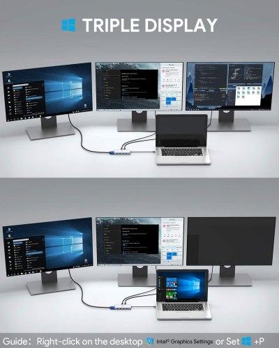 image Test du hub et adaptateur USB C 12 en 1 de Aukey 16