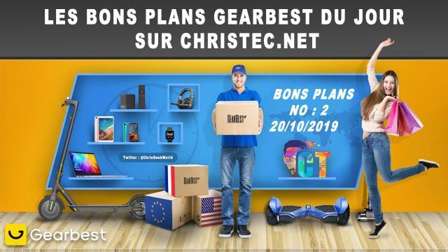 Bons Plans GearBest (2) 20 / 10 / 2020