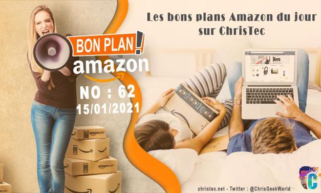 Bons Plans Amazon (62) 15 / 01 / 2021