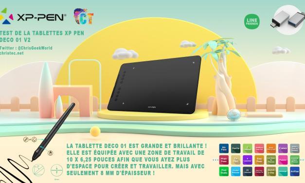 Test de la tablette graphique XP Pen Deco 01 V2, parfait pour débuter