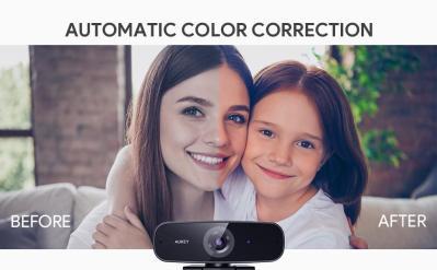 image Test de la webcam 1080p Aukey PC-W3 avec réduction de bruit stéréo 14