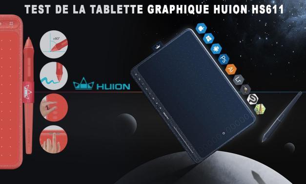 Test tablette graphique Huion HS611 : parfait pour les débutants