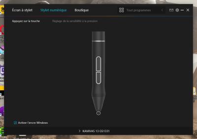 image Test de la tablette graphique avec écran Huion kamvas 13 41