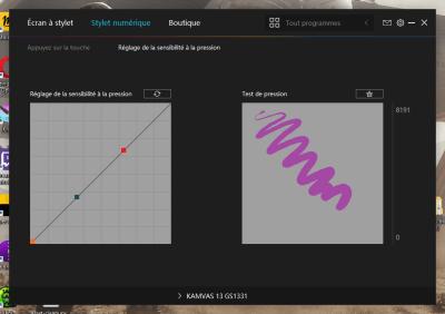 image Test de la tablette graphique avec écran Huion kamvas 13 42